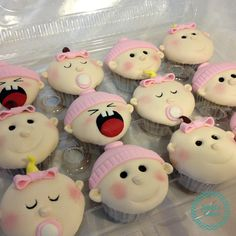 It's a girl! Baby Shower Cupcakes! – Janel's Cakes