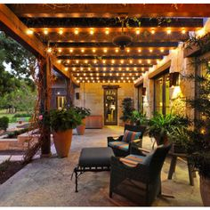 Creekside - mediterranean - Porch - Austin - Rick O'Donnell Architect