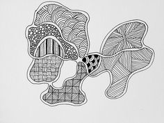 Zentangle #117 - Orchid | Flickr - Photo Sharing!