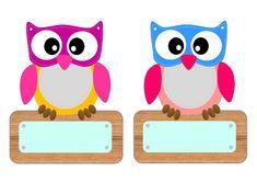 דביר Preschool Names, Owl Theme Classroom, Happy Owl, Frame Layout, Kids Background, Kindergarten Fun, Owl Crafts, Blog Images, Diy Embroidery