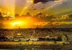 Resultado de imagem para jerusalem sunset