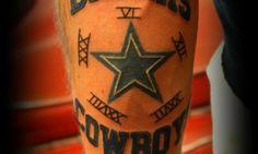 Cowboys Tattoo by Summer Henry at Avatar Tat2 in Cottonwood, AZ.