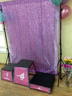 Liz A's Birthday / Gymnastics - Photo Gallery at Catch My Party Spa Birthday Parties, Girl Birthday Themes, Slumber Parties, Gymnastics Birthday Parties, Birthday Fun, Birthday Party Decorations, Tinkerbell Party, Party Ideas, Milkshake