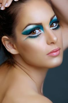 Image result for cool intense makeup