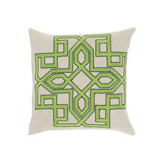 Decor 140 Catania Throw Pillow, Med Green