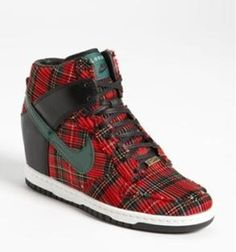 Sporty Outfits : Description Nike 'Dunk Sky Hi City' Wedge Sneaker (Women) available at Womens Wedge Sneakers, Sneakers Mode, Sneakers Fashion, Adidas Shoes Outlet, Nike Shoes Cheap, Nike Wedges, Sneaker Wedges, Sporty Outfits Nike, Nike Dunks
