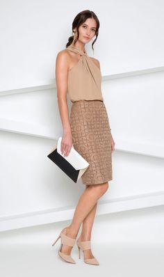 Etcetera   Spring 2015: Honey top, Ornamental skirt