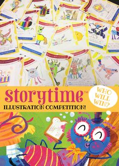 Huge thanks to all the talented kids who entered our drawing competition. We'll announce the winner soon! :-) ~ STORYTIMEMAGAZINE.COM