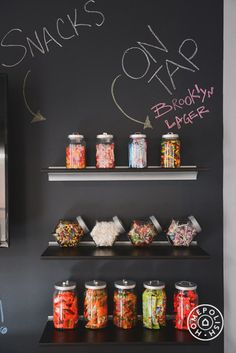Office snack wall!