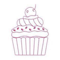 BabyNucci Bordados Designs -Cupcakes Singles   OregonPatchWorks