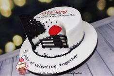 A love story - cake by Maria's - CakesDecor