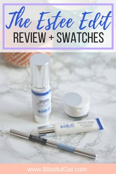 The new Estee Edit line is so fun and modern! I received four items from the collection from Influenster and am reviewing them for you! See which ones are for me and which I would pass on! http://blissfulgal.com/the-estee-edit-review-swatches/
