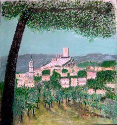 Luisa Verdú - paisaje de Biar