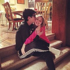 Joey Bragg and Audrey Whitby Joey Bragg, Disney Channel, The Funny, Hilarious, Goals, My Favorite Things, Couple Photos, Nerd, Life
