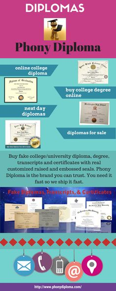 Looking for realistic, durable, and personalized fake college - copy university diploma templates