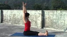 Хатха Йога для начинающих. Самые первые позы., via YouTube.