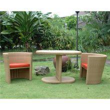 Outdoor cadeira de vime/cadeira de jardim