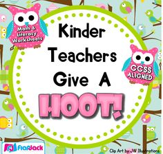 This title includes over 160 math and literacy worksheets that are CCSS-aligned and full of adorable owl goodness :). $
