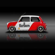 Classic Racing Legends Series No1 🚗🏁 Mini in Marlboro livery. ________________________________________________________ Another series of my…