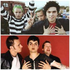 Green Day and Emily's Army/Swimmers