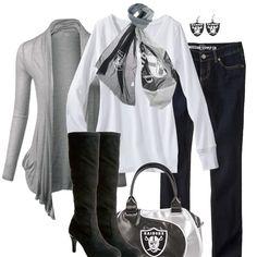 Oakland Raiders Fall Fashion