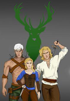 Aelin and her men.