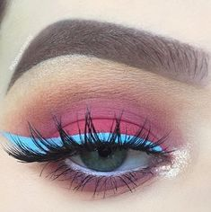 BLUE MILK Liquid Liner 💧 Available now on limecrime.com Eye look by @alyssaxbeauty