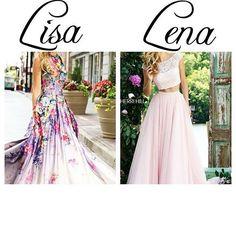 Lisa or Lena? Subject: Dress My Choice: Lisa