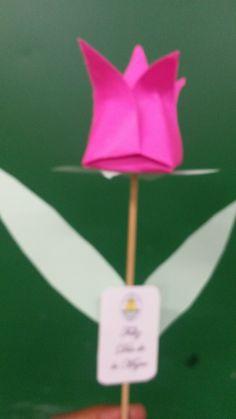 Tulipan en origami