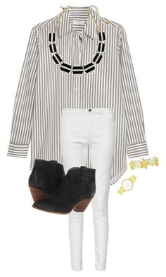 """My day rtd"" by blonde-prepster ❤ liked on Polyvore featuring Equipment, French Connection, Frye, Liz Claiborne and Kate Spade"