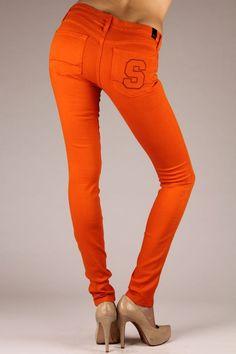umm i want these Syracuse Apparel, Syracuse Orangemen, Syracuse Basketball, Syracuse University, Orange Fashion, Die Hard, Jeans Brands, Fun Things