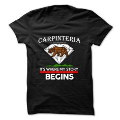 Carpinteria - California - Its Where My Story Begins !  - #customized hoodies #kids t shirts. LOWEST PRICE  => https://www.sunfrog.com/States/Carpinteria--California--Its-Where-My-Story-Begins-Ver-2.html?60505
