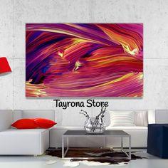 Cuadro Decorativo Tayrona Store Para Sala o Alcoba Pintura Fluida Color 19