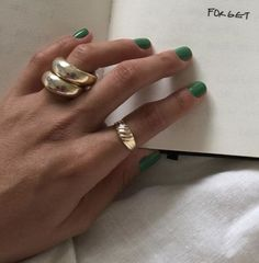 Polished Rose Gold Plated over Brass / 2 Pcs - - Custom Jewelry Ideas Piercings, Jewelry Accessories, Fashion Accessories, Jewelry Ideas, Fashion Jewelry, Nagellack Trends, Mode Outfits, Sporty Outfits, Nail Inspo
