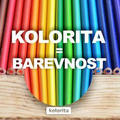 KOLORITA = BAREVNOST Art Supplies, Instagram