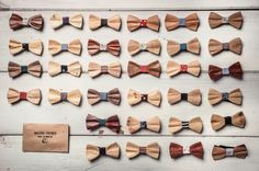 Raissa Chineo. Italian Handmade Wooden Bowties!!! https://www.facebook.com/raissachineo/