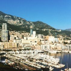 #Rocher #Bonjour #France #Monaco #jadore #magnifique #paysage #bateaux #ciel #serein #liberté #insta #instgram #instagramphoto by catapanss from #Montecarlo #Monaco