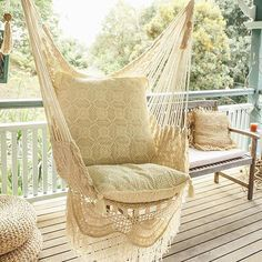 **Free Shipping to the U.S. on all Mission Hammocks** Picture yourself swinging about on your porch, in your living room, out in your garden, in your bedroom, from a tree branch, or in your office...o