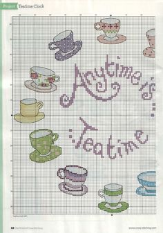 Sticken Kreuzstich - cross stitch - free pattern <3 PART 1