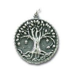 Stunning 925 Sterling Silver Tree of Life Pendant  Free Silver Chain | museumreplicajewelry - Jewelry on ArtFire