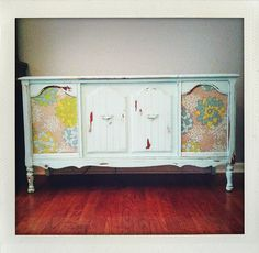 The sweetest stereo cabinet ever. by pinkpicketfence, via Flickr