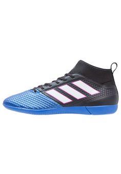 Haz clic para ver los detalles. Envíos gratis a toda España. Adidas  Performance ACE 17.3 PRIMEMESH IN Botas de fútbol sin tacos black white blue   ... a4fc154c52501
