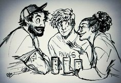 Jeff, Nic, and MK from Tanis Podcast