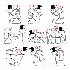Wedding Clipart Clip Art Stick People Couple Figure Wedding TeoldDesign Clip Art Commercial & Personal Use Direct Download di TeoldDesign su Etsy https://www.etsy.com/it/listing/253175199/wedding-clipart-clip-art-stick-people