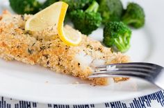 Recipe: Parmesan-Crusted Baked Cod