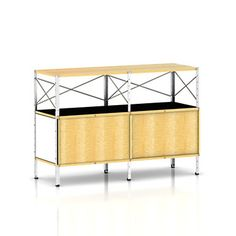 Show details for Herman Miller Eames Storage Unit, 2 x 2 with Doors