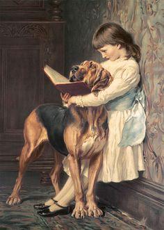 Compulsory Education   BRITON RIVIÉRE painted this scene, Compulsory Education, in 1887.