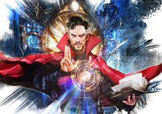 The Geeky Nerfherder: 'Doctor Strange' by Jake Moon Marvel Art, Marvel Dc Comics, Marvel Heroes, Marvel Avengers, Lego Marvel, Stucky, Comic Books Art, Comic Art, Sherlock