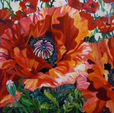 Songs of Spring - Anna Clarey Canadian Artists, Songs, Spring, Anna, Floral, Flowers, Flower Art, Paintings, Art Floral