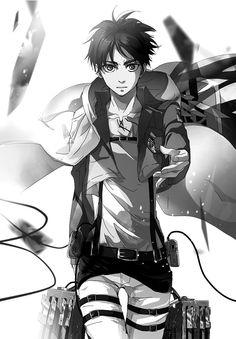 Eren Jaeger. Shingeki no Kyojin. Attack on Titan.